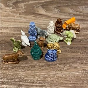 Collectibles little glass figures